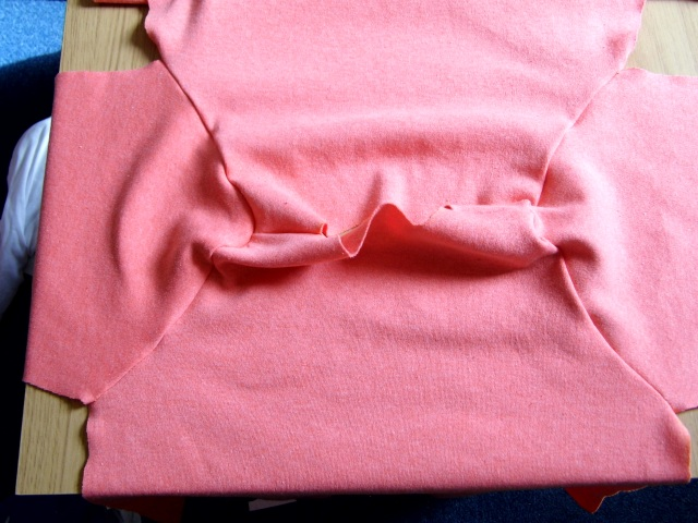 Sew the sleeve onto the